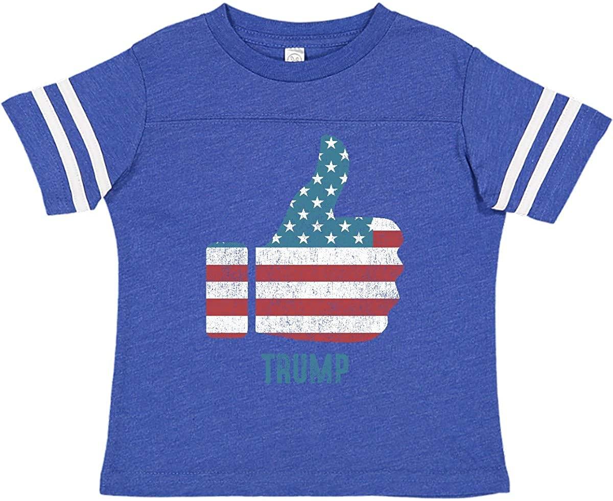 inktastic Thumbs Up Trump Toddler T-Shirt