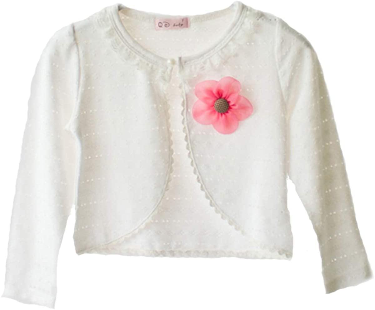 Cinda Clothing Little Girls' Cotton Bolero