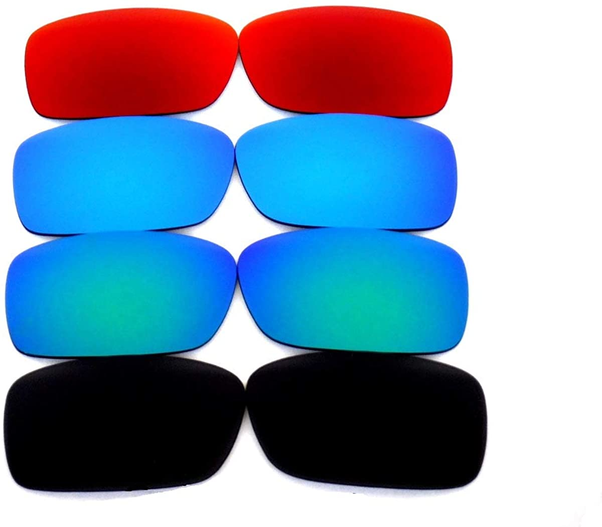 Galaxy Replacement Lenses For Oakley Crankcase Sunglasses Black/Green/Blue/Red Polarized 100% UVAB