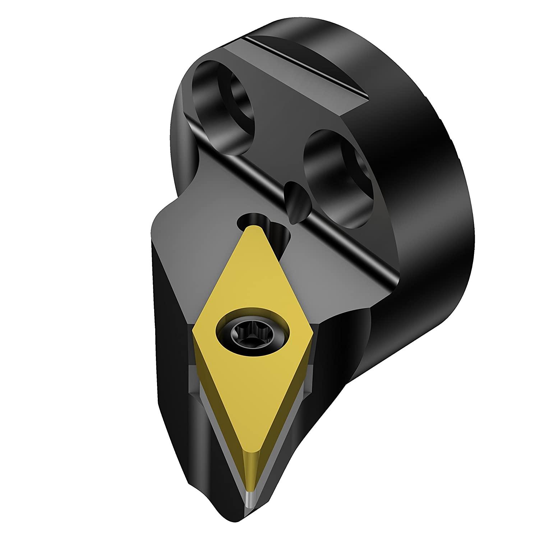 Sandvik Coromant 570-SVPBL-40-16-L Coroturn 107 Head for Turning, Internal, 117.5 Degree Tool Cutting Edge Angle