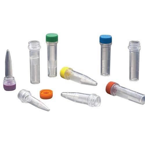 Labcon 3631-875-000 Micro centrifuge Tube, Attached Natural Caps, Sterile, 0.5 ml