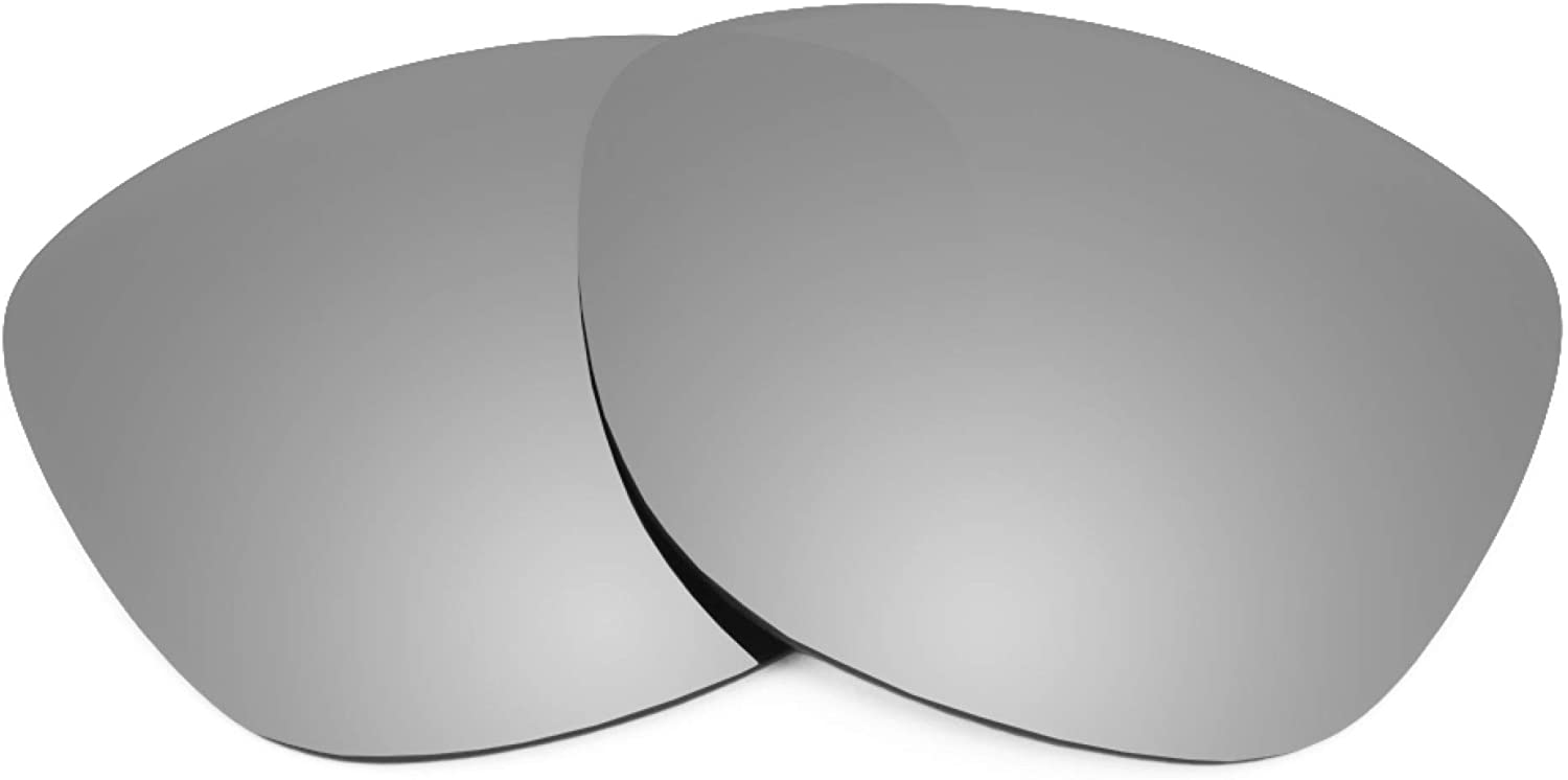 Revant Replacement Lenses for Ray-Ban Meteor Classic RB2168 50mm, Polarized, Titanium MirrorShield