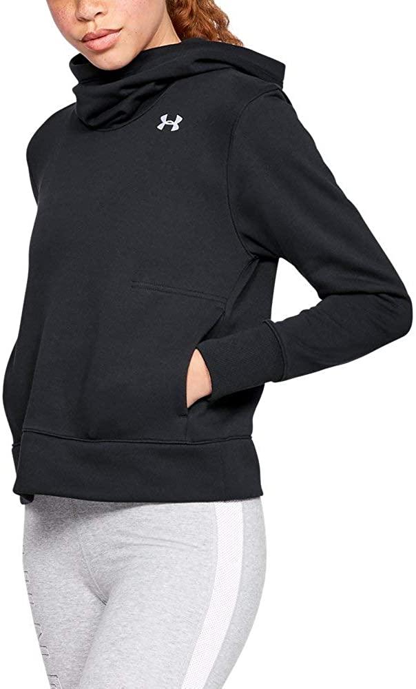 Under Armour UA Cotton Fleece Logo MD Black