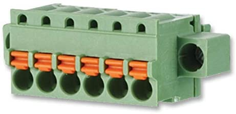 ASP0840306 - Pluggable Terminal Block, 3.81 mm, 3 Positions, 28 AWG, 16 AWG, 1.5 mm², Push In, (Pack of 10)
