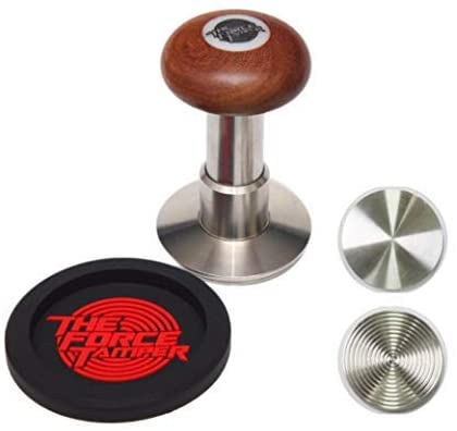 The Force Tamper-New Design Espresso Coffee Tamper Coffee Press Tool Food Grade Stainless Steel Base Extend Set (Ball,53.00mm)
