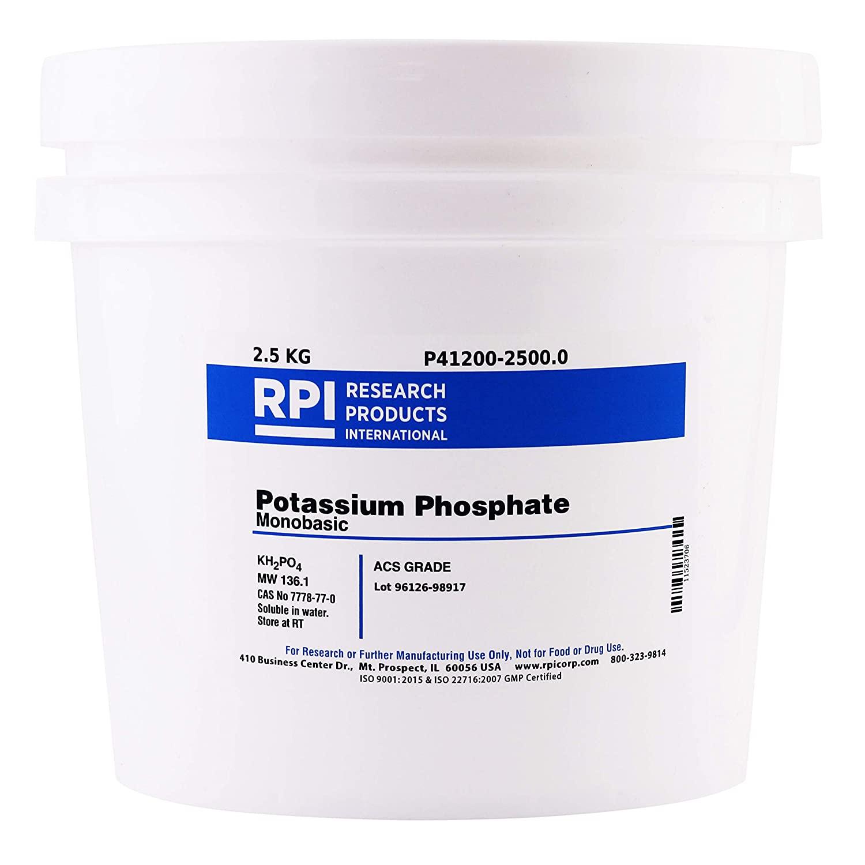 Potassium Phosphate, Monobasic, ACS Grade, 2.5 Kilograms