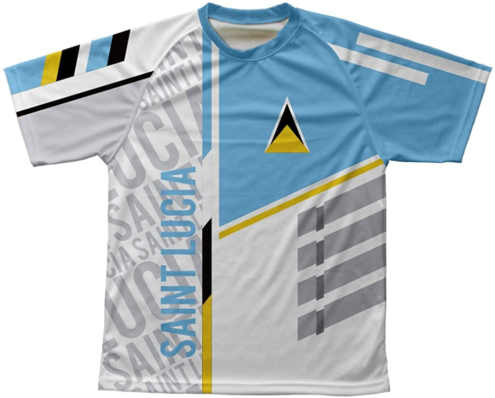 ScudoPro Saint Lucia Technical T-Shirt for Men and Women