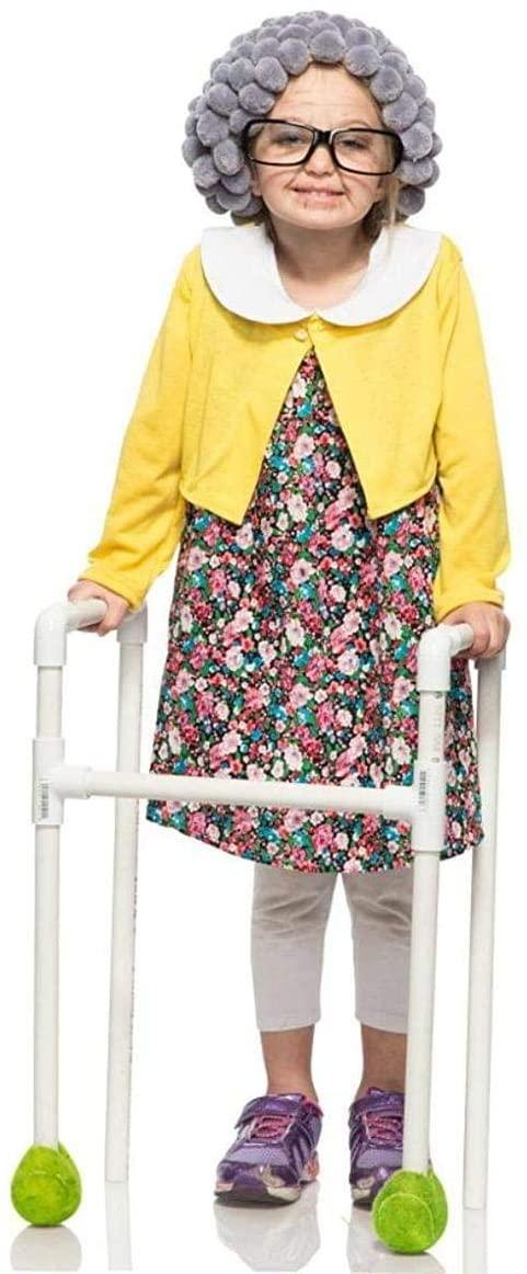 Child Grandma Costume 4T