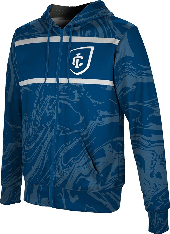 ProSphere Ithaca College Boys' Zipper Hoodie, School Spirit Sweatshirt (Ripple)