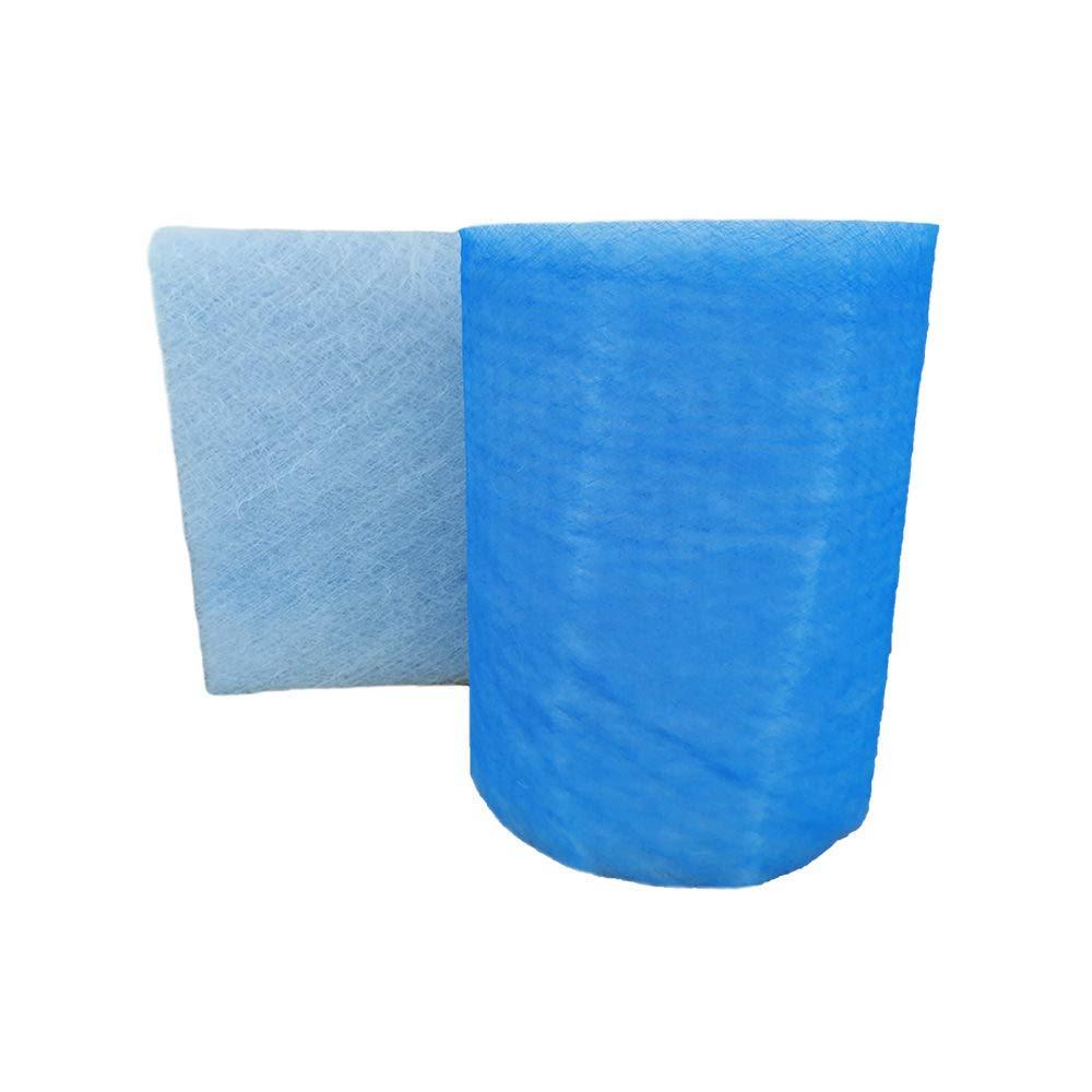 20.5x 100 ft Paint Spray Booth Floor Filter Fiberglass Paint Arrestor Roll (Blue)