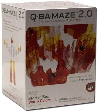 MindWare Q-Ba-Maze 2.0 Starter Box Warm Colors