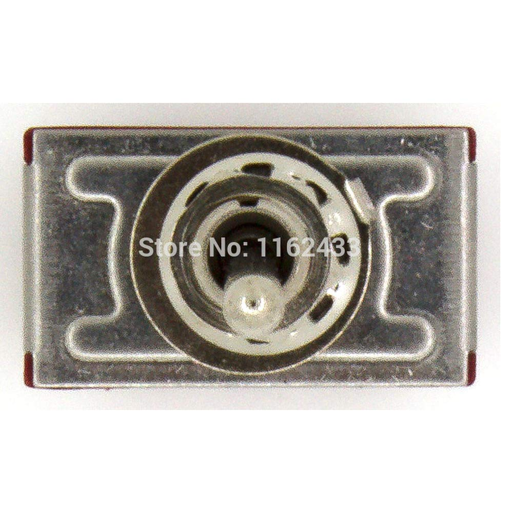 5pcs/lot MTS-403 perforate Diameter 6 mm self-Lock 12 pin ON - Off - ON 4PDT 3 Positions Toggle Switch