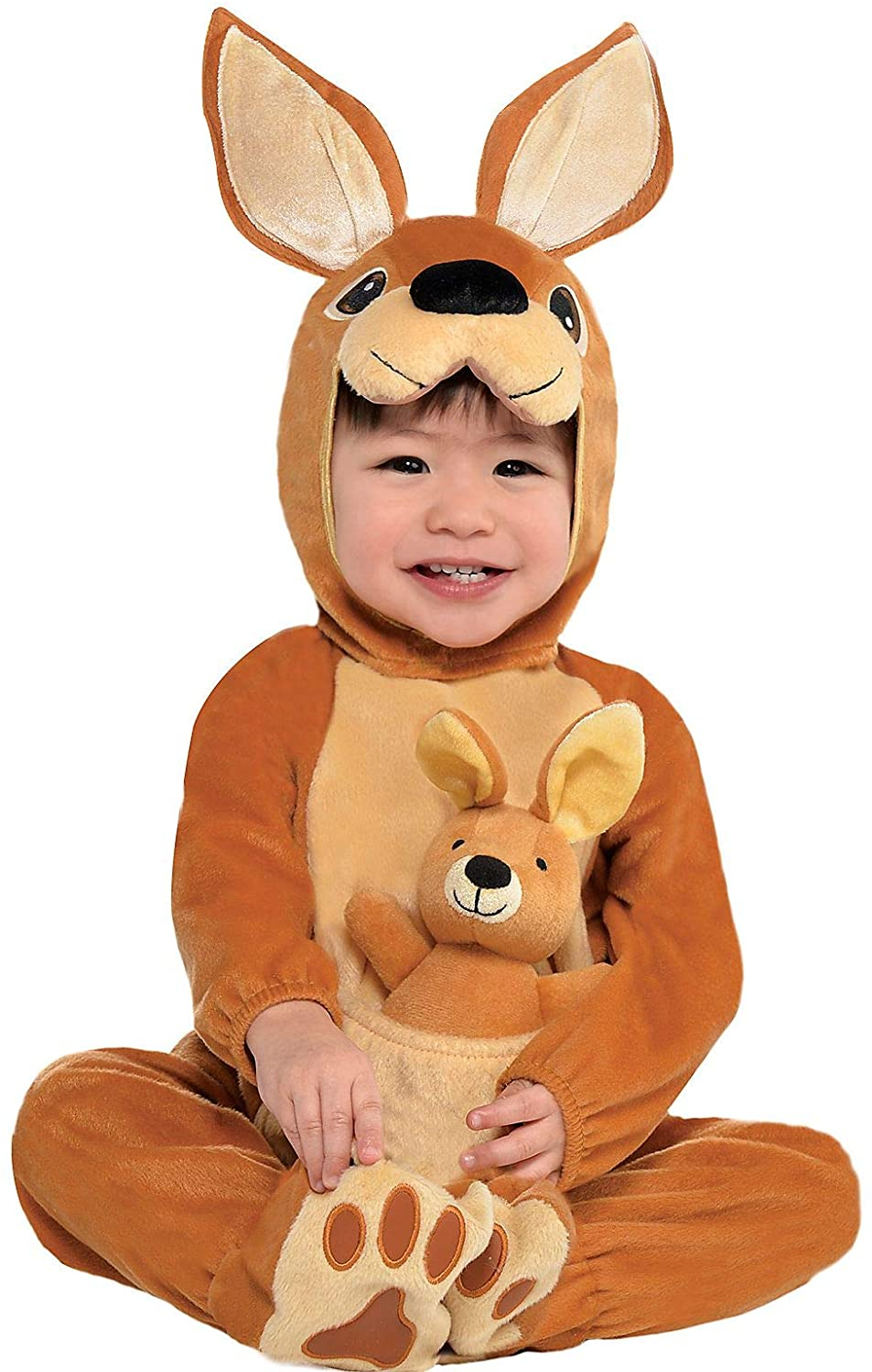 Suit Yourself Jumpin' Joey Kangaroo Halloween Costume for Babies, Includes Accessories