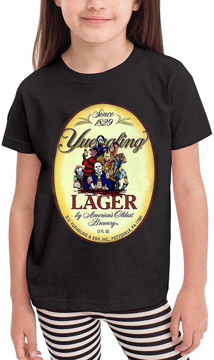 Five5 Boys,Girls,Baby Yuengling Graphic T-Shirt 2 to 6 Years Old