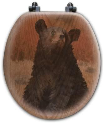 WGI-GALLERY TS-R-BC Bear Cub Round Toilet Seat