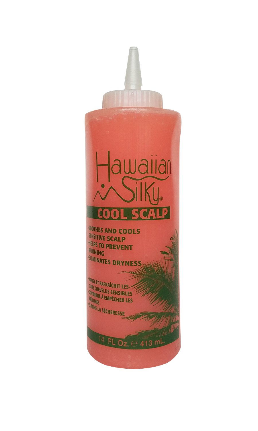 Hawaiian Silky Hawaiian silky cool scalp 14 fluid ounce, Pink, 14 Fl Ounce