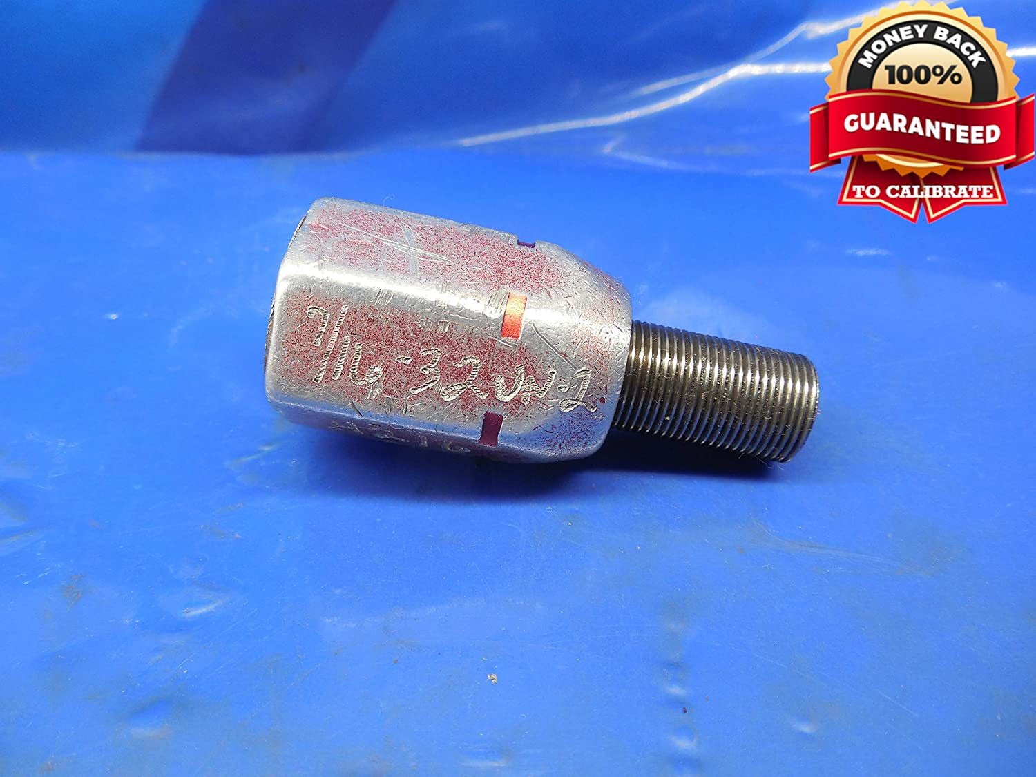 7/16 32 UN 2B Thread Plug GAGE .4375 NO GO ONLY P.D. = .4216 7/16-32 N-2 UN-2