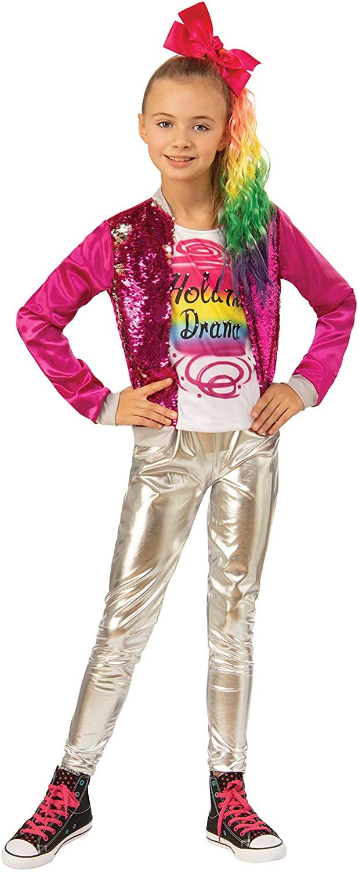 Child's Girls JoJo Siwa Hold The Drama Outfit Costume