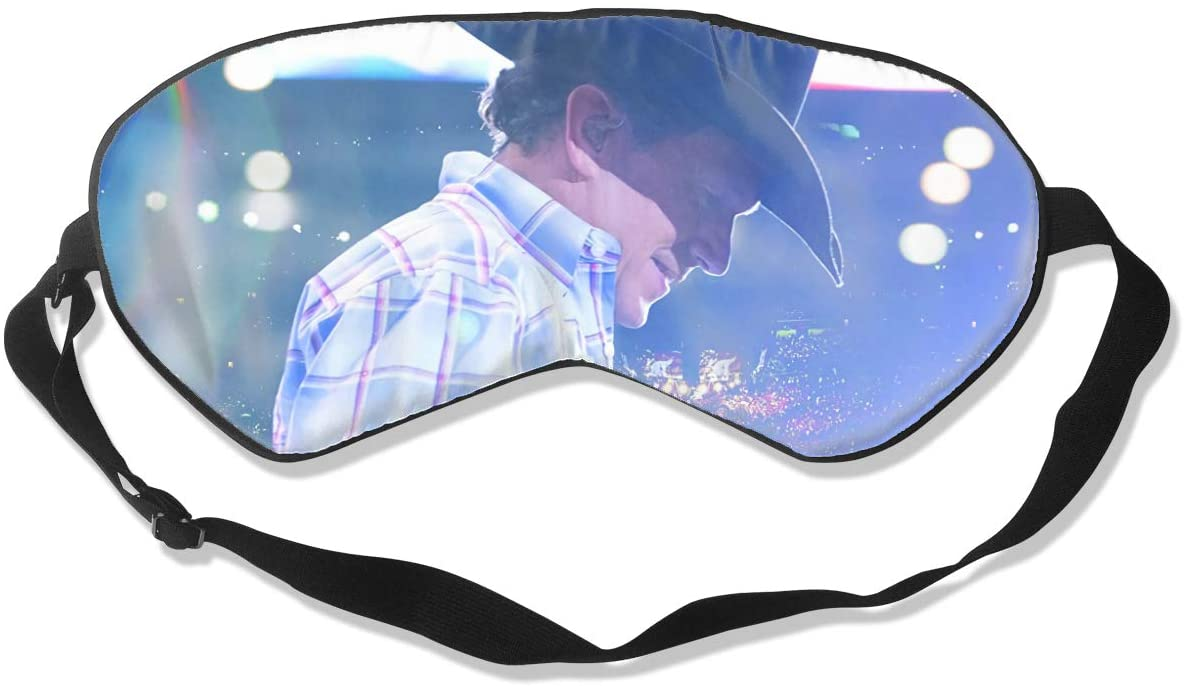 8rwwpJgr George Strait Unisex Fashion Sleep Eye Mask Soft Comfortable with Eye Mask Adjustable Headband