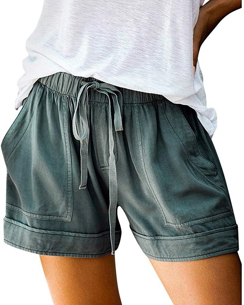Women Shorts High Waist Floral Tassels Hot Shorts Summer Beach Shorts Casual Yoga Sport Shorts Short Pants …