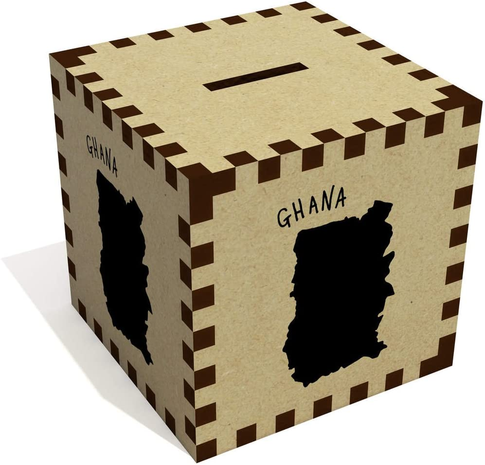 Azeeda Ghana Country Money Box / Piggy Bank (MB00051527)