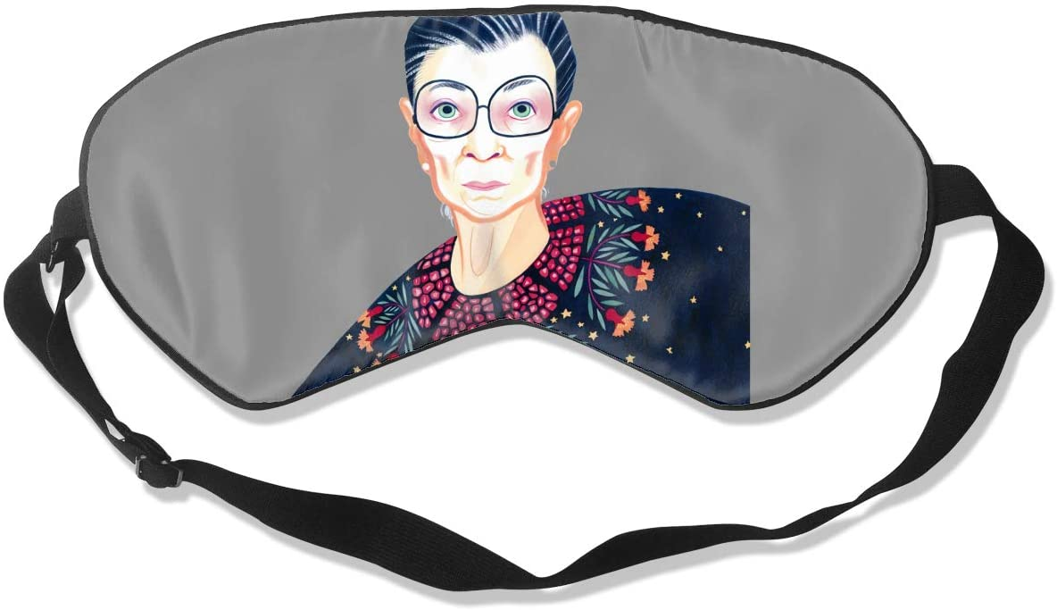 Wehoiweh Ruth Bader Ginsburgbreathable and Comfortable, Silky Skin-Friendly, Ideal Eye Mask for Dry Eyes