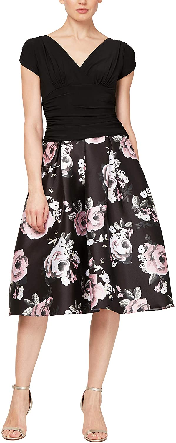 S.L. Fashions Women's Fit and Flare Party Dress