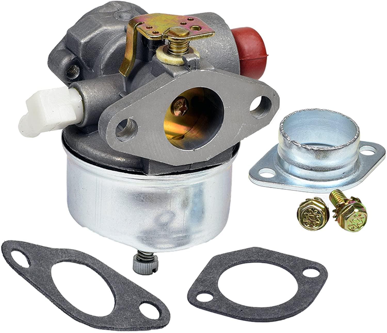 GLENPARTS Carburetor Replaces FOR Tecumseh Parts 632611 632611A 632635 632644 632645 632646