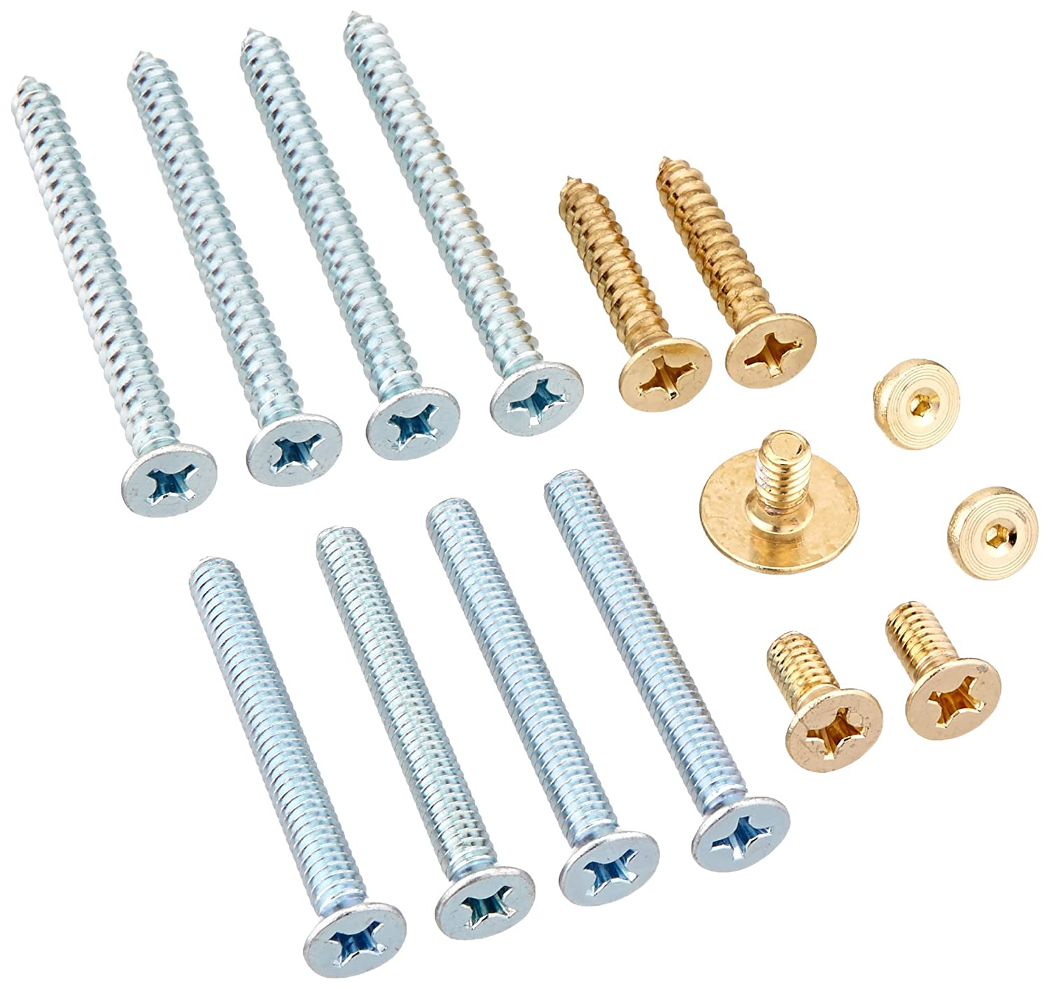 LCN 4010WMS3 4010-WMS US3 Brass Plated Screw Pack