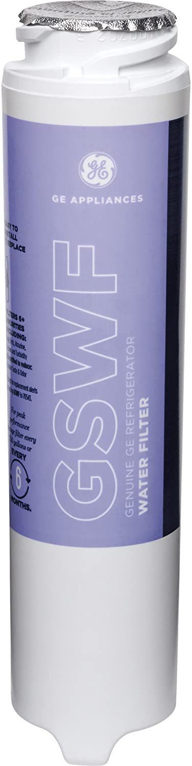 GE GSWF Refrigerator Water Filter, 1-Pack,Multi