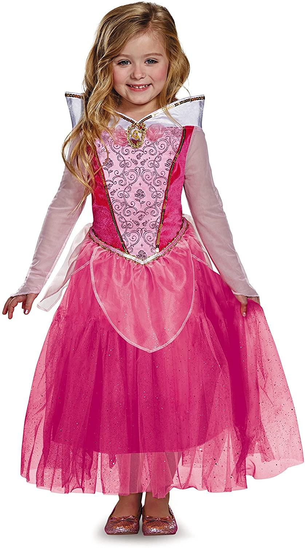 Aurora Deluxe Disney Princess Sleeping Beauty Costume, Small/4-6X