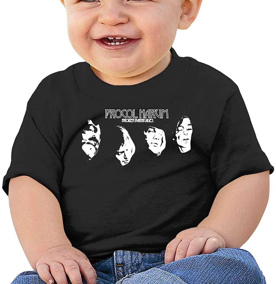 Cute Art Short-Sleeved Style Unique Procol Harum Baby T-Shirt