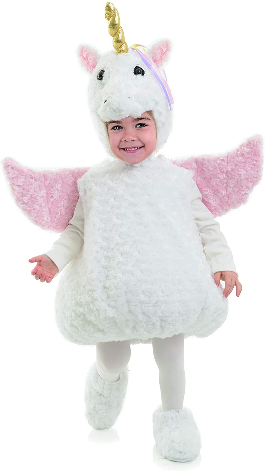 UNDERWRAPS Unicorn Girls Belly Baby Costume