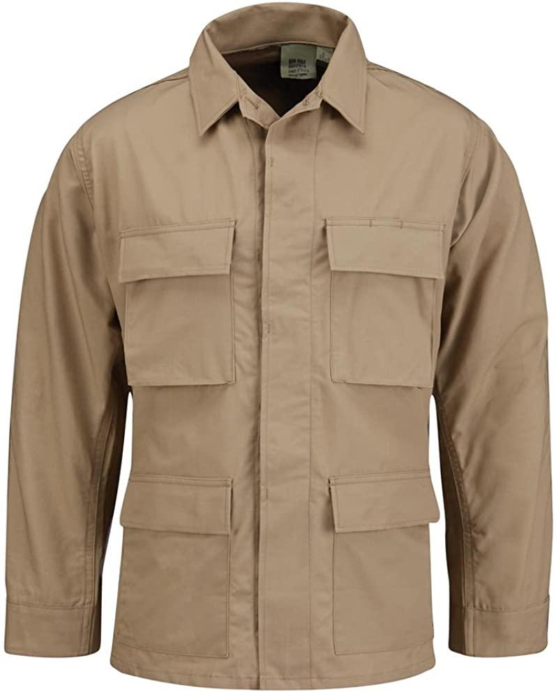 Propper BDU Coat Regular Length 100 Percent Cotton Khaki XLR