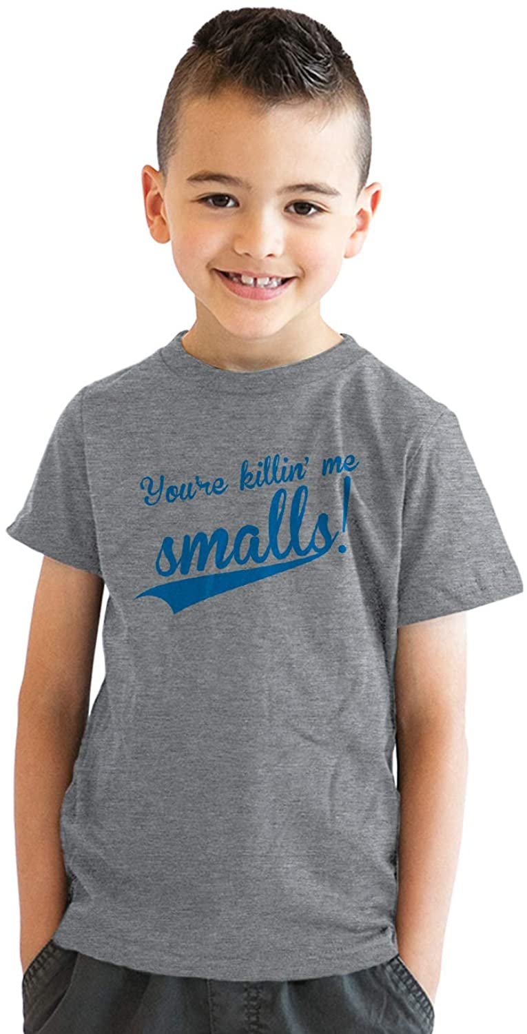 Youth Youre Killing Me Smalls T Shirt Funny Vintage Baseball Graphic Tee Kids