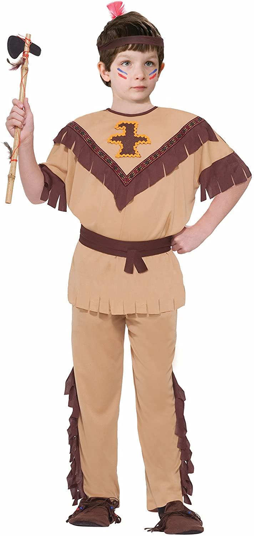 Forum Novelties Native American Brave Costume, Child's Medium