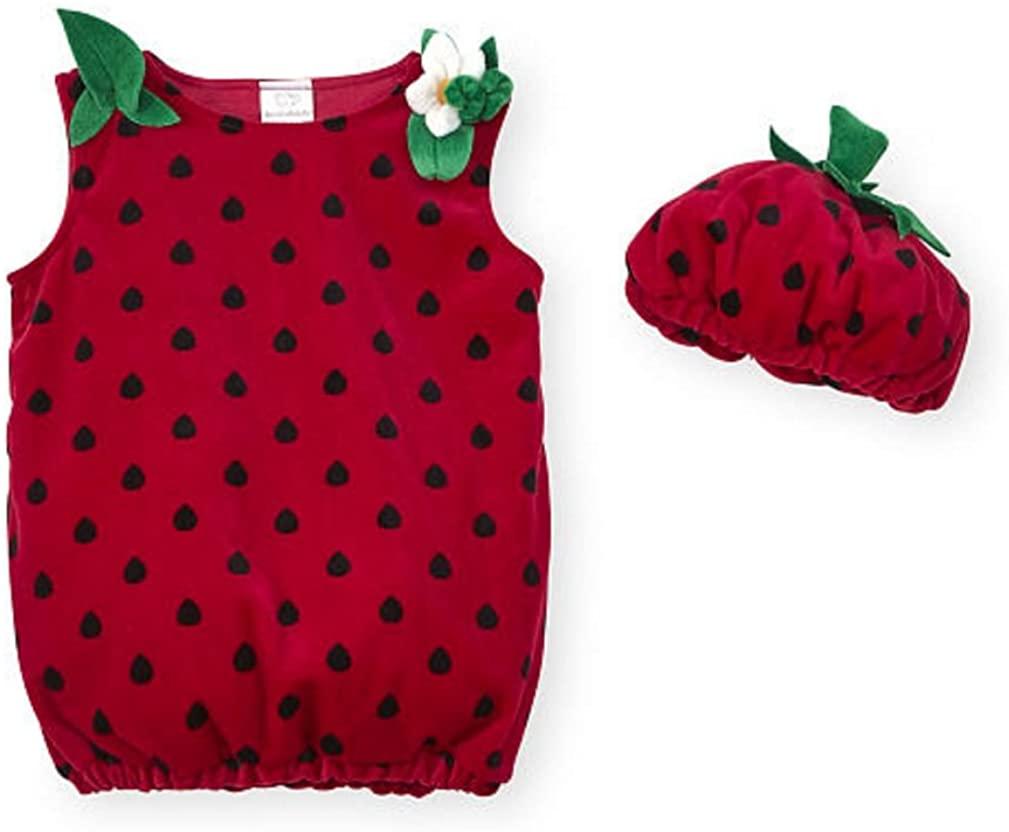 Koala Kids Baby Girls Red Strawberry Costume