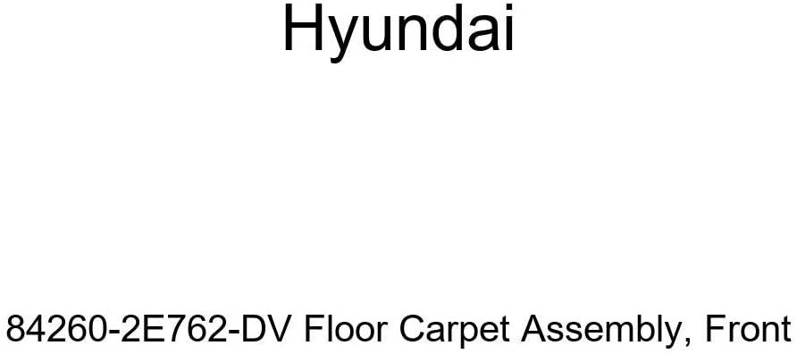 Genuine Hyundai 84260-2E762-DV Floor Carpet Assembly, Front
