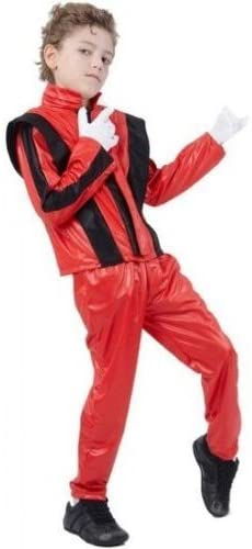 Parties Unwrapped UK 80s Michael Jackson Thriller Childs Fancy Dress Costume - L 146cms