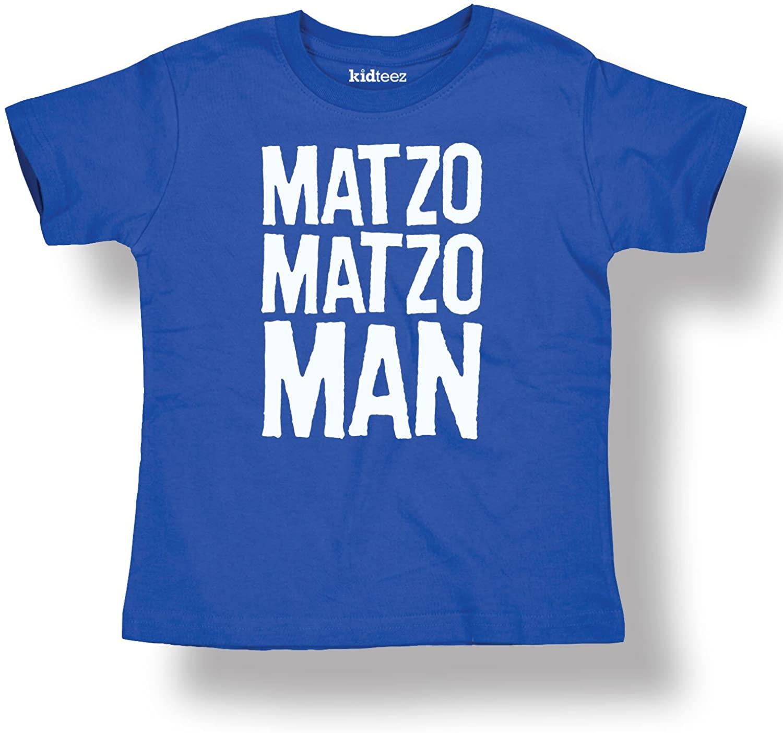 Instant Message Matzo Matzo Man Cool Holiday Jewish-Toddler T-Shirt