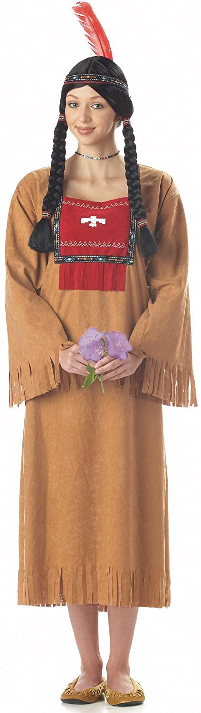 California Costumes Womens Running Brook Indian