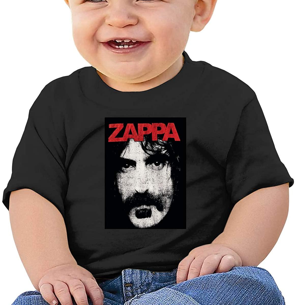 Fgrtyt Baby Frank Zappa Short Sleeve Cotton Graphic Tee T-Shirt