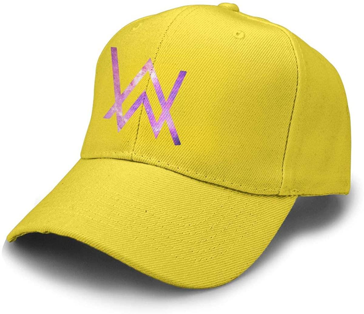 Alan Walker Logo Solid Color Baseball Caps Alan Walker Logo Trucker Hat Unisex