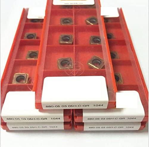 GBJ-1 50pcs 880-050305H-C-GR1044 New Carbide Insert