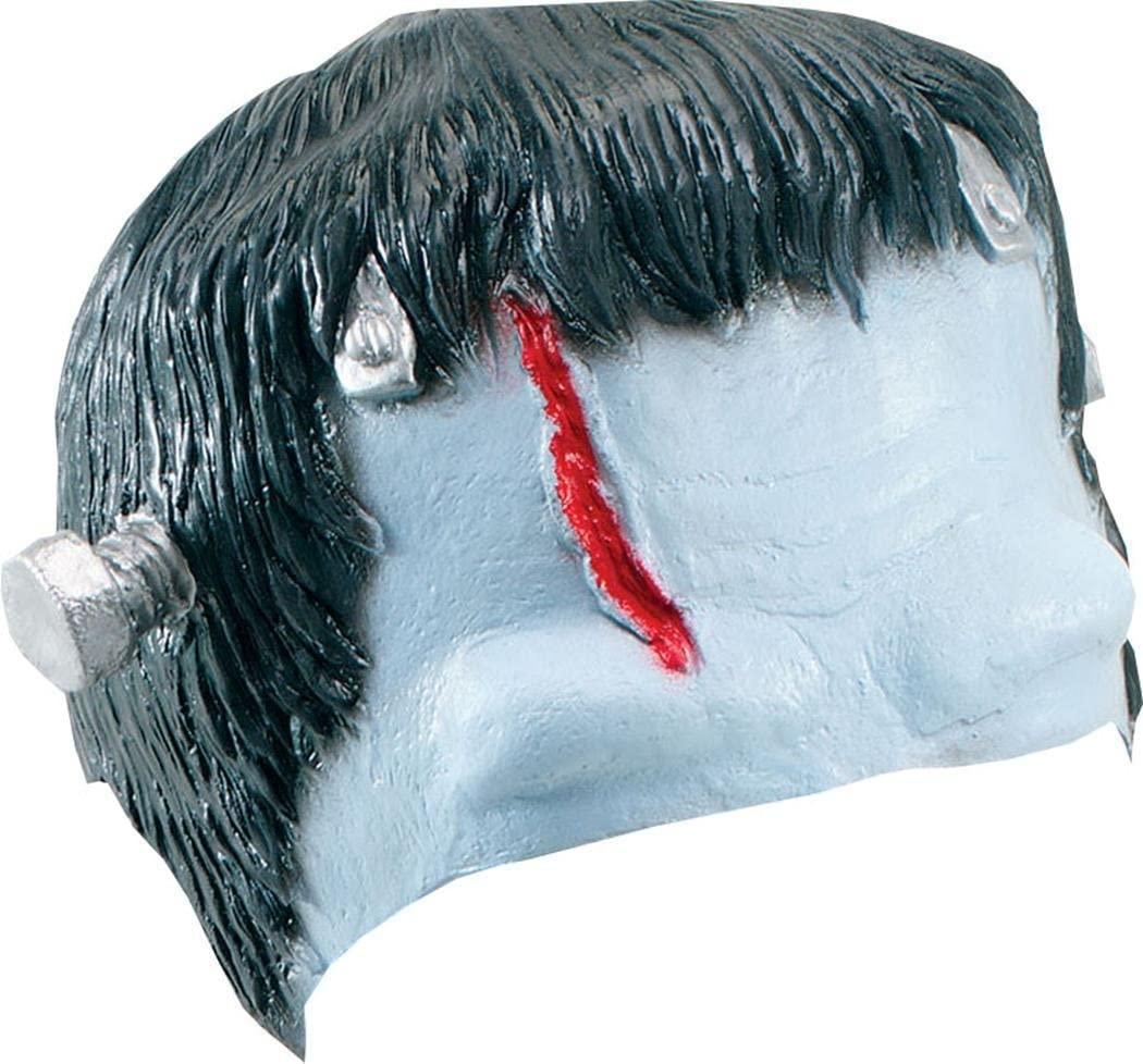 Bristol Novelty MD034 Frankenstein Headpiece , Black/Blue/Red , One Size