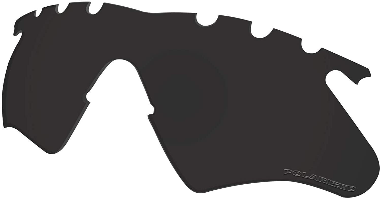 Lenses Replacement for Oakley M Frame Heater Vented Sunglass Polarized - Dark Black