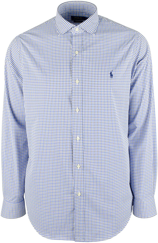 Ralph Lauren Polo Men's Classic Fit Stretch Poplin Button-Down Shirt