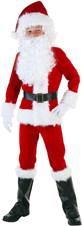 Kids Santa Claus Costume Childs Premier Santa Suit Costume
