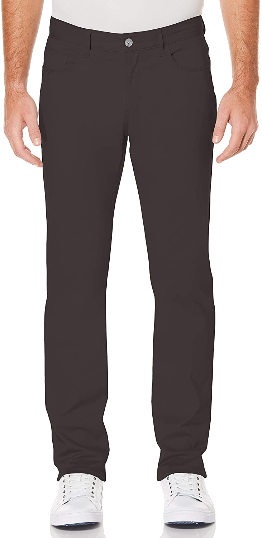 Perry Ellis Men's Slim Fit Stretch Five Pocket Satin Pant