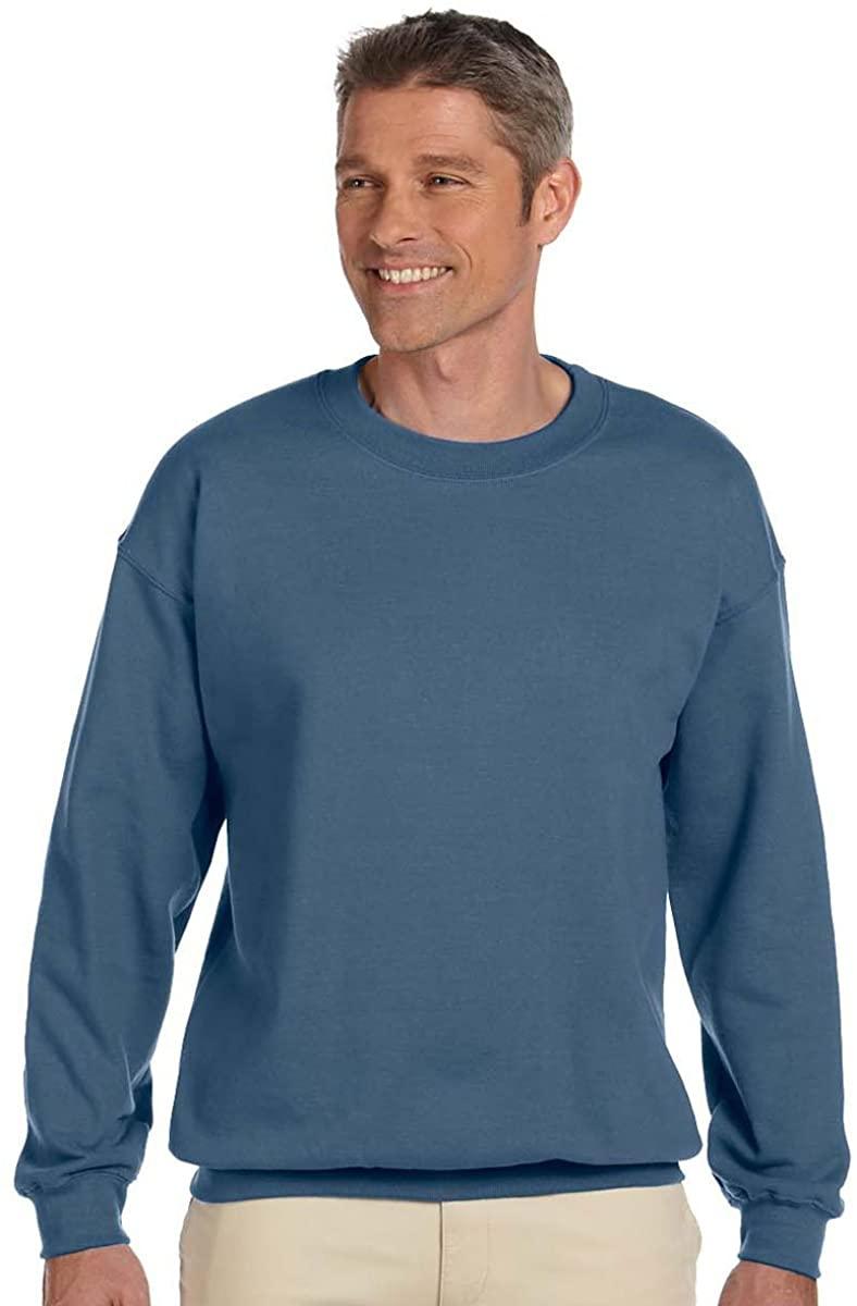 Gildan 18000 - Classic Fit Adult Crewneck Sweatshirt Heavy Blend - First Quality - Indigo Blue - X-Large